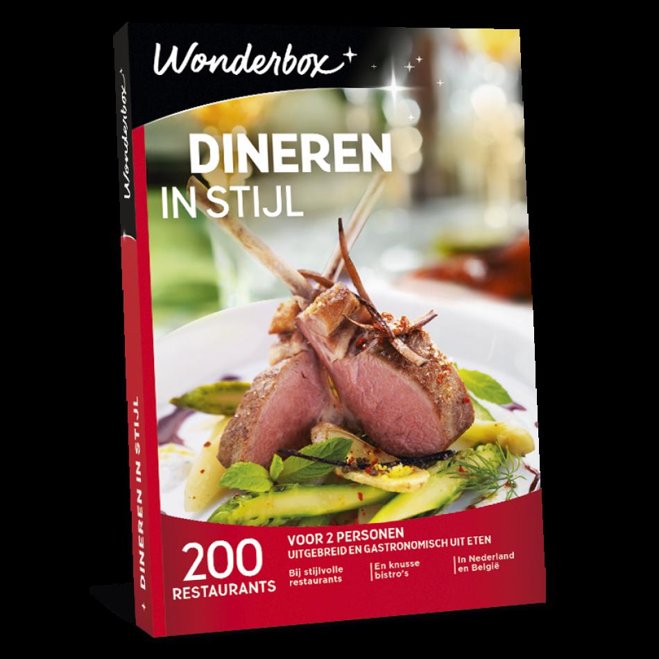 Wonderbox - Dineren in stijl