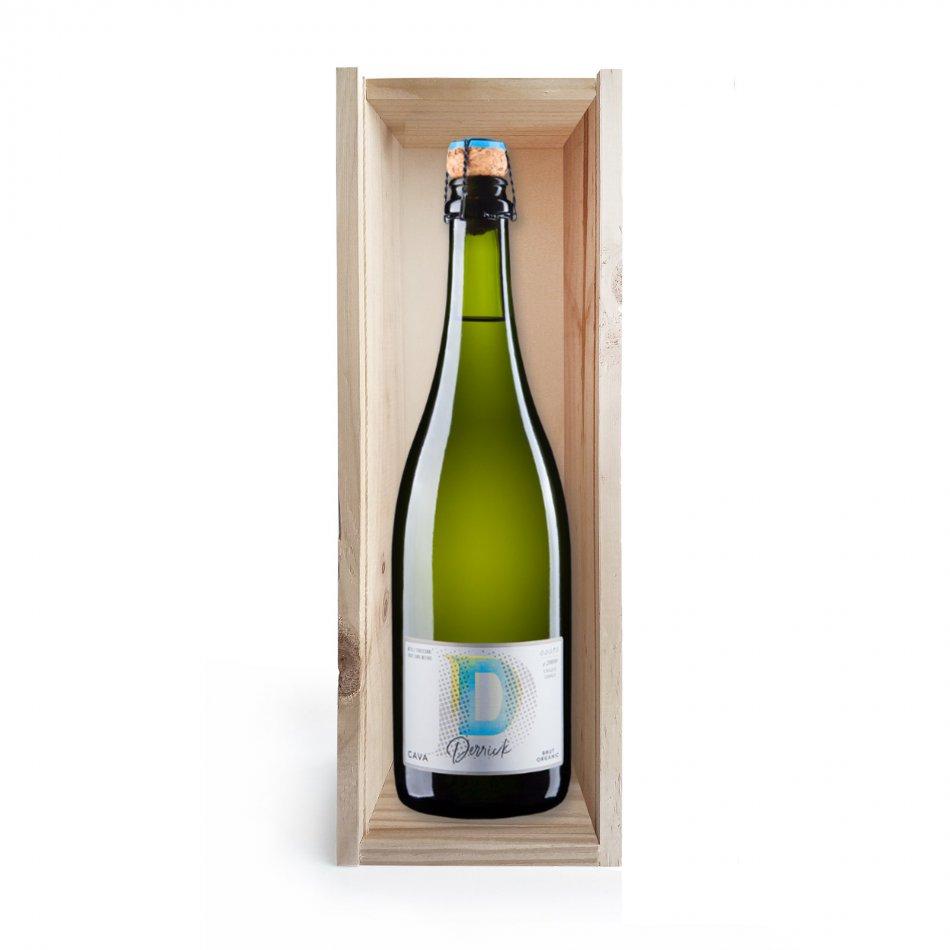 Wijnkist Derrick Cava Brut Organic